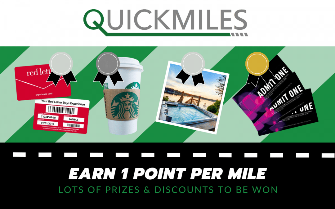 Earn points for your same-day delivery with QuickMiles